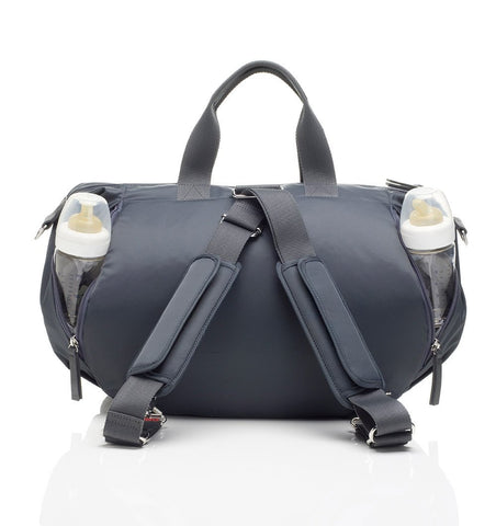 Buy the Storksak Seren Changing Bag in Graphite Grey by STORKSAK from Me and Buddy