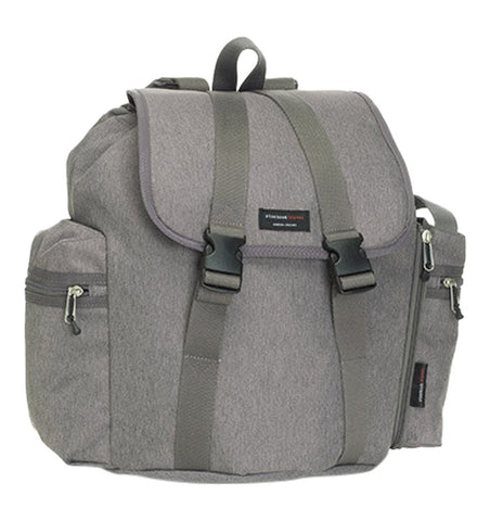Buy the Storksak Travel Backpack Changing Bag in Grey by STORKSAK from Me and Buddy