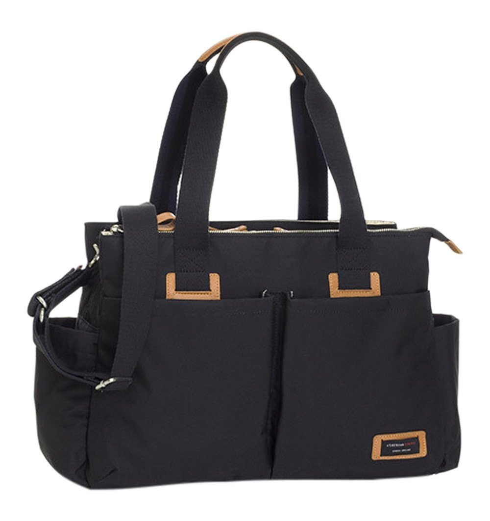 Buy the Storksak Travel Shoulder Changing Bag in Black by STORKSAK from Me and Buddy