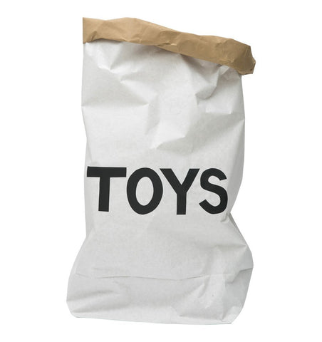 Buy the Toys Large Paper Storage Bag by TELLKIDDO from Me and Buddy