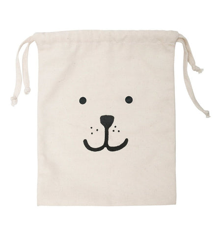 Buy the Bear Small Fabric Storage Bag by TELLKIDDO from Me and Buddy