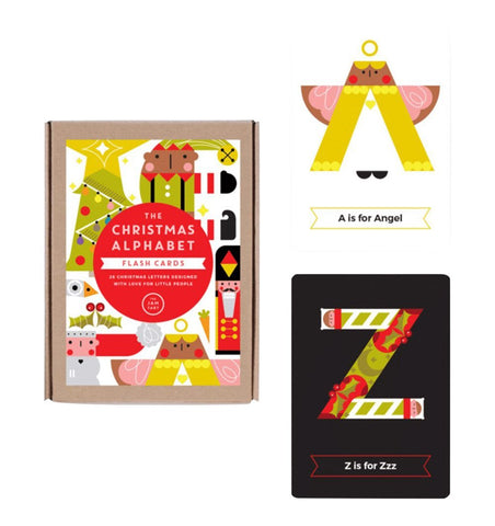 Buy the The Jam Tart Christmas Alphabet Flash Cards by THE JAM TART from Me and Buddy
