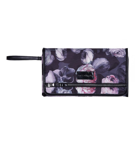 Buy the Tiba + Marl Etta Clutch Changing Bag in Goth Floral by TIBA + MARL from Me and Buddy