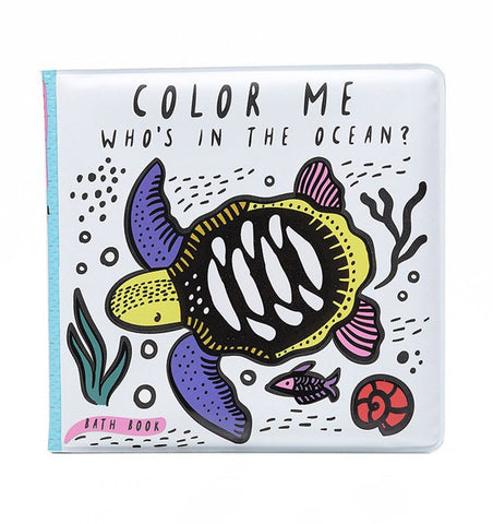 Buy the Wee Gallery Colour-Changing Bath Book : Who's in the Ocean? by WEE GALLERY from Me and Buddy