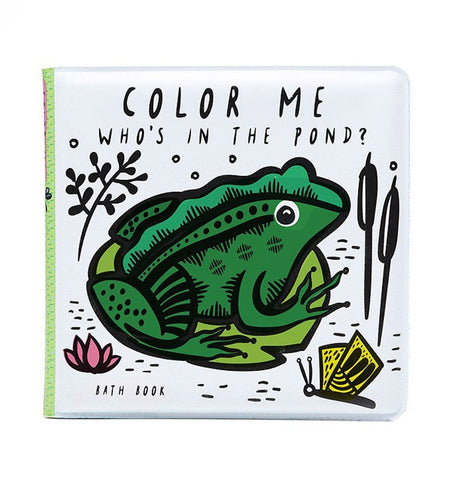 Buy the Wee Gallery Colour-Changing Bath Book : Who's in the Pond? by WEE GALLERY from Me and Buddy