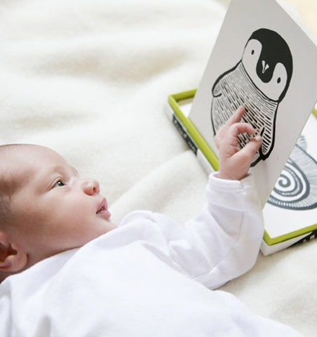 Buy the Wee Gallery Art Cards for Baby - Black and White Collection by WEE GALLERY from Me and Buddy