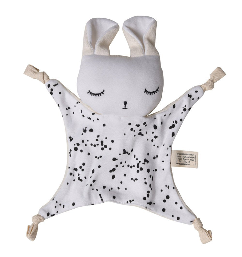 Buy the Wee Gallery Cuddle Bunny in Splatter Design by WEE GALLERY from Me and Buddy