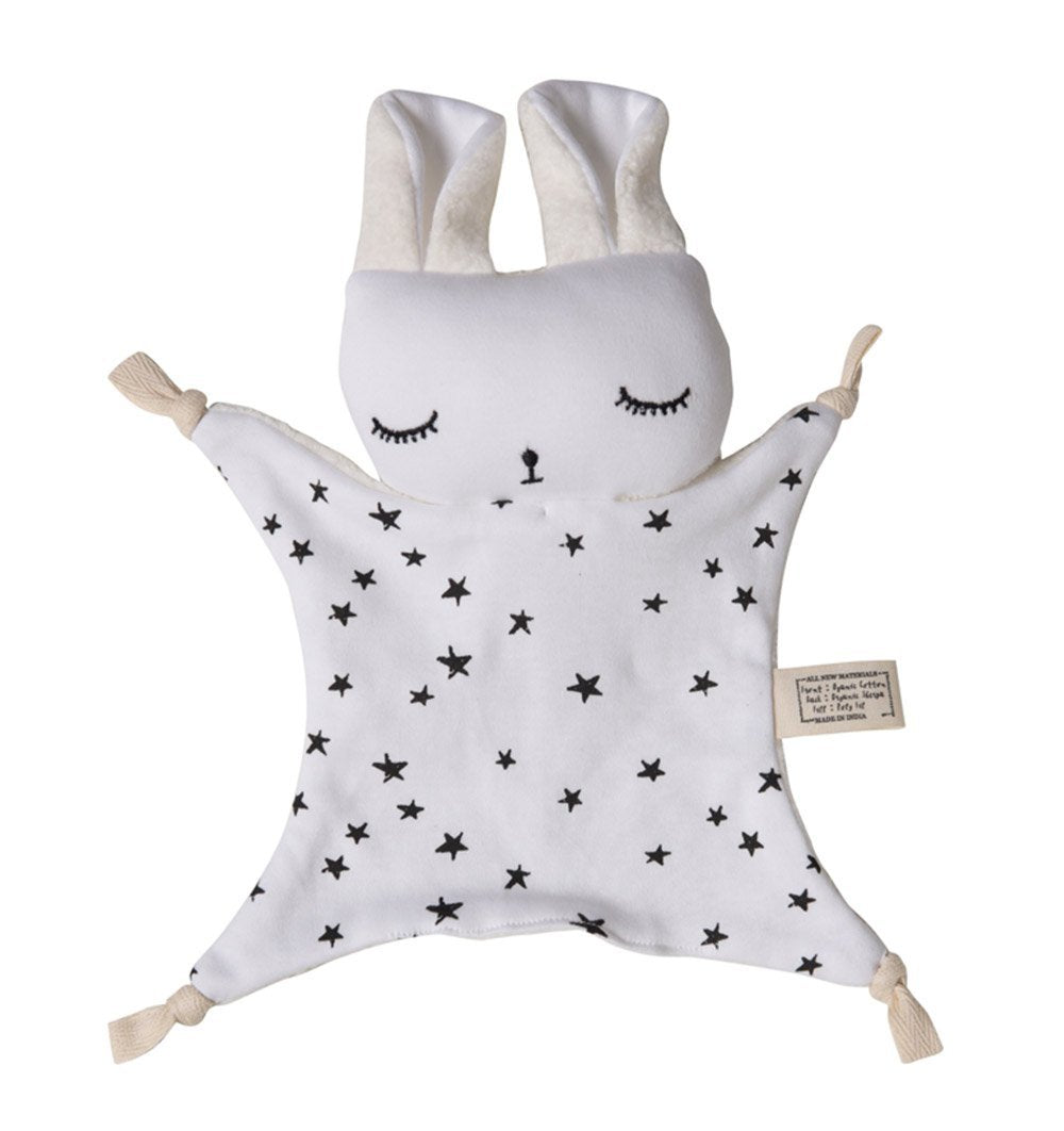 Buy the Wee Gallery Cuddle Bunny in Stars Design by WEE GALLERY from Me and Buddy