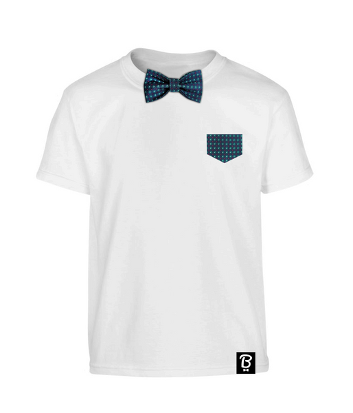 Kids Diamond Dot Bowtee T-Shirt