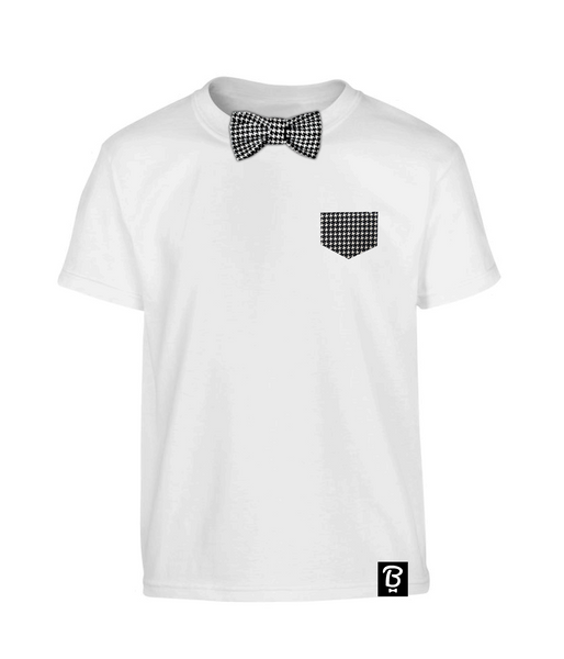 Kids Dogstooth Bowtee T-Shirt