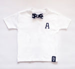 Baby + Toddler Personalised Love Letter Bow Tie Bowtee T-Shirt
