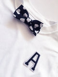 Baby + Toddler Love Letter Bow Tie Bowtee T-Shirt