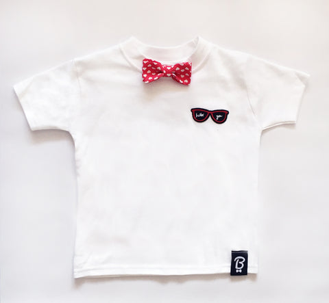 Baby + Toddler Hello You Bow Tie Bowtee T-Shirt