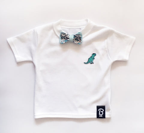 Baby + Toddler Jurassic Rex Bow Tie Bowtee T-Shirt