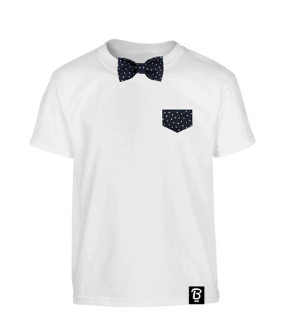 Kids Starry Night Bowtee T-Shirt