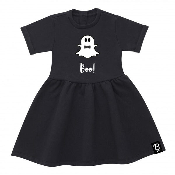 Spooky Ghoul Halloween Bowtees Skater Dress