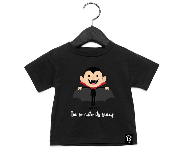 Baby + Toddler Cute Dracula Halloween T-Shirt