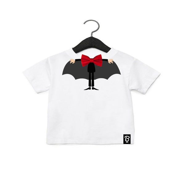 Baby + Toddler Cute Dracula Bow Tie Halloween T-Shirt