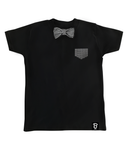 Baby + Toddler Dogstooth Bow Tie Bowtee T-Shirt