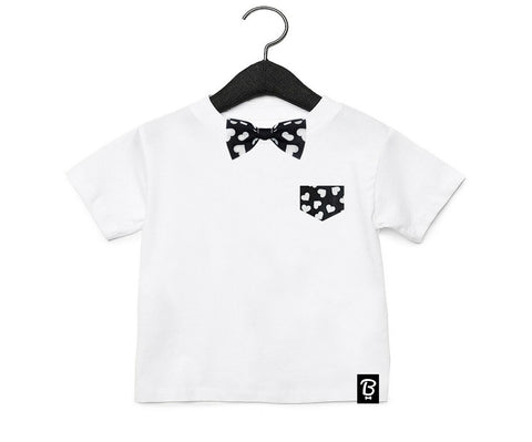 Baby + Toddler Love Thing Bow Tie Bowtee T-Shirt