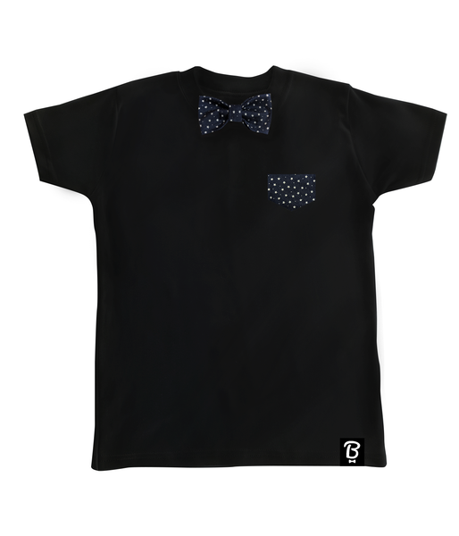 Baby + Toddler Starry Night Bow Tie T-Shirt