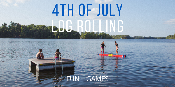 Abby's 4 Favorite Log Rolling Challenges for the 4th of July Weekend!