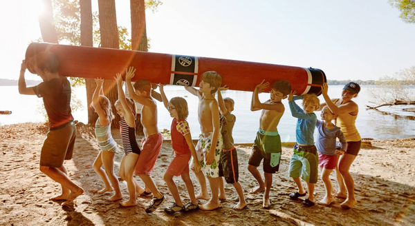 Log Rolling at Summer Camp: The Gift That Keeps on Giving
