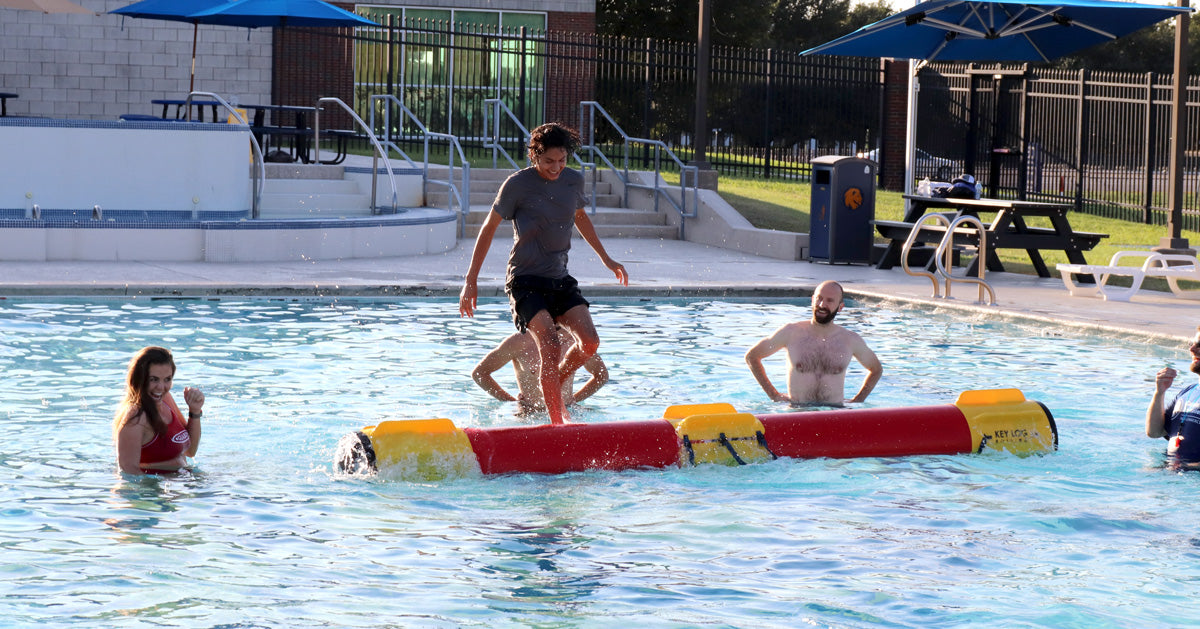 TAMUC Students Love New Log Rolling Program