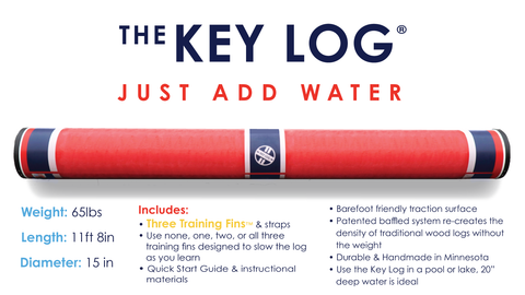 About The Key Log | Making An Old Sport New Again - Key Log