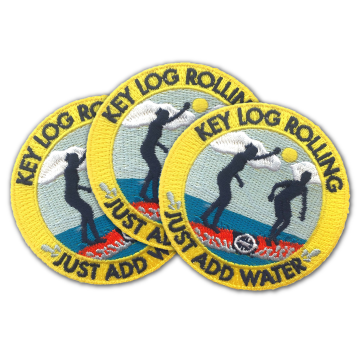 Activity Patch - Pack of 30 - Key Log Rolling