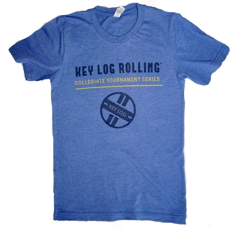 Key Log Rolling Collegiate Series Collector's Tee - Key Log Rolling