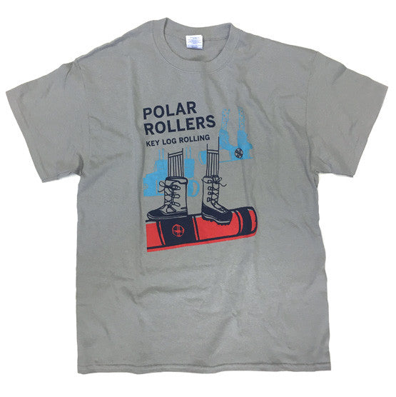 "Key Log ""Polar Roller"" T-Shirt - Key Log Rolling"