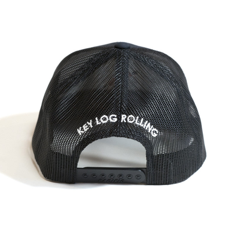 Key Log Navy Mesh Cap - Key Log Rolling