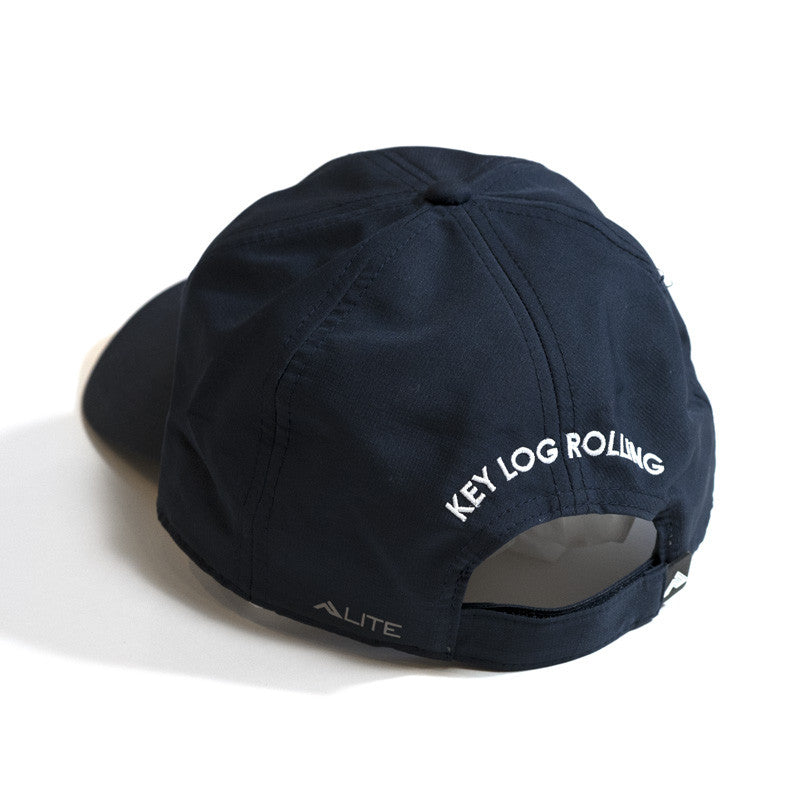 Key Log Navy Performance Cap - Key Log Rolling