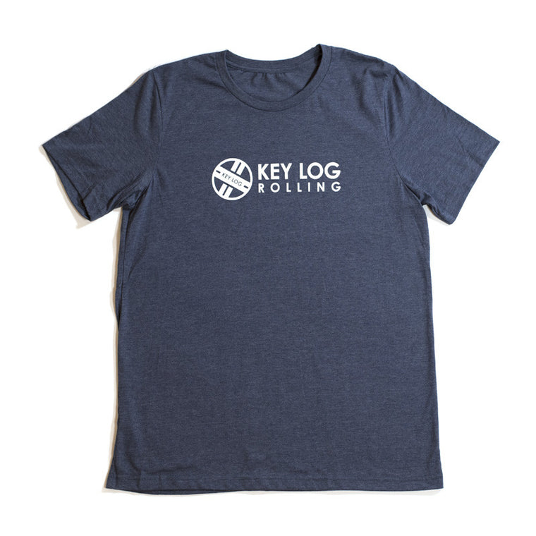 Original Blue Key Log Rolling T-Shirt - Key Log Rolling