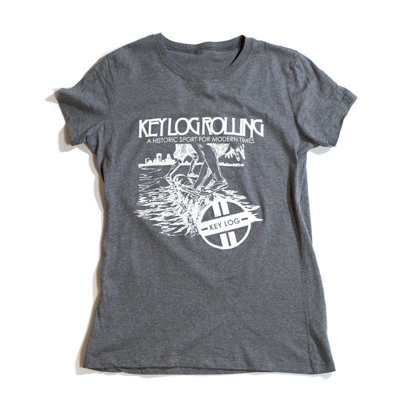 Key Log Women's Graphic T-Shirt - Key Log Rolling