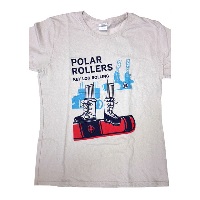 "Key Log ""Polar Roller"" Women's T-Shirt - Key Log Rolling"