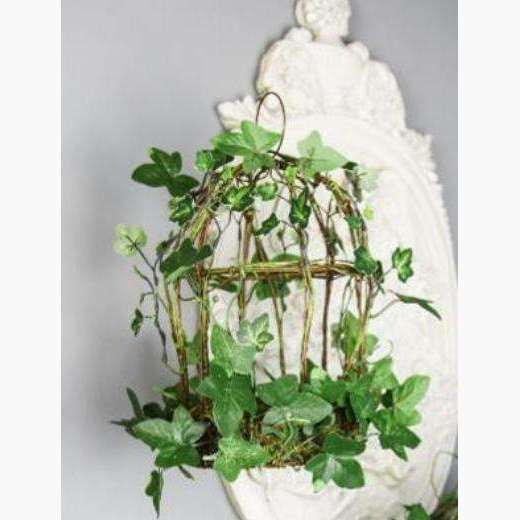 Wild Ivy and Vine Decorative Bird Cage