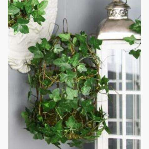 Large Wild Ivy and Vine Decorative Bird Cage