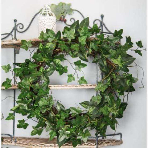 Wild Ivy, Vine and Moss Large Natural Base Wreath