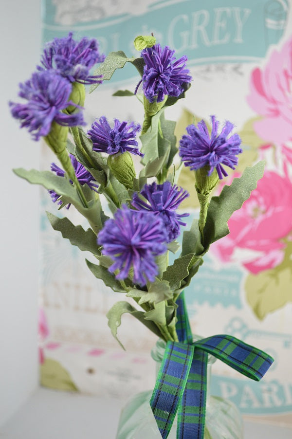 Scottish Thistle Bunch