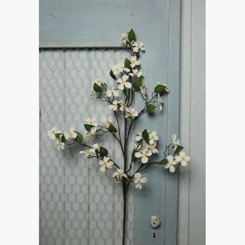 White Dogwood and Twig spray