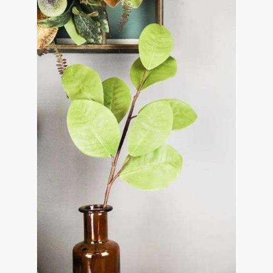Large Magnolia Leaf Spray - Light Green