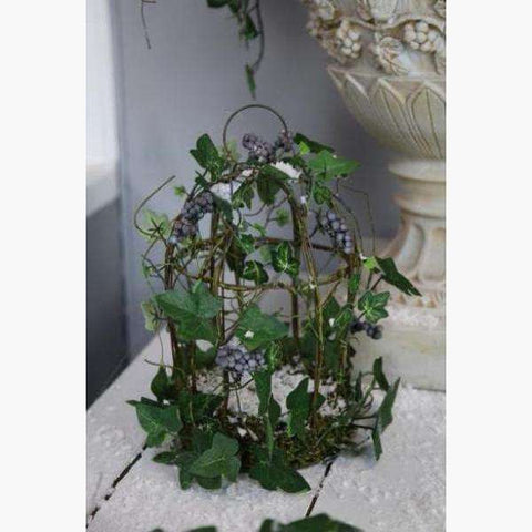 Wild Ivy, Berry & Vine Decorative Birdcage
