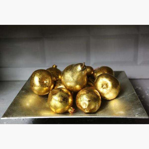 Box of 6 Gold Pomegranates