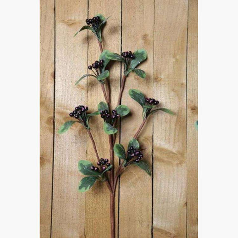 8 Tier Blackcurrant Spray L80cm