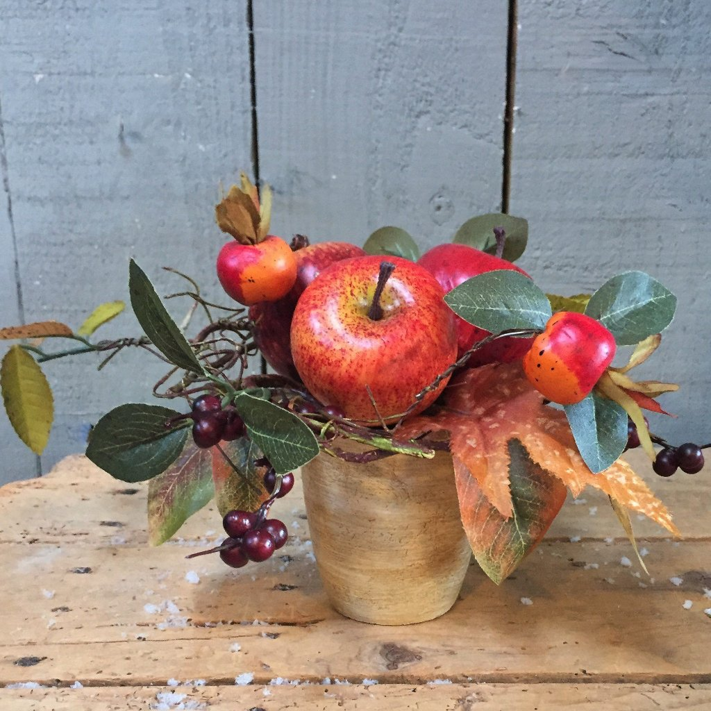Fall Fruit Medley Potted Arrangement