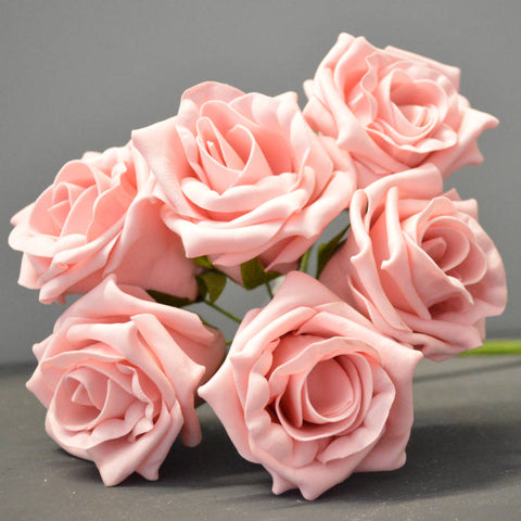 Rose 'Victoria' 6pc/Bunch - Vintage Pink