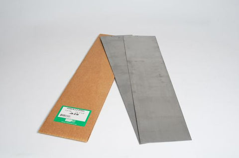 "Steel Shim Stock 1075 Annealed .025"" x 6"" x 25"" 2 Piece Flat Paks S48025"
