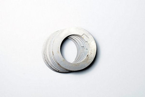 "Arbor Spacers 1010 Steel  .0015"" x 1/2"" x 3/4"" (10 Per Pack)  S14193"